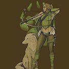 Hunter Druid by ThirdhandHarpy