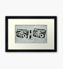Tape to Tape Framed Print
