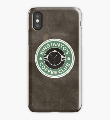 Ianto coffee club iPhone Case