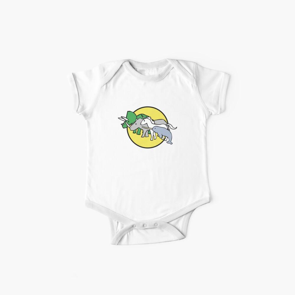 Gehörnte Kriegerfreunde Baby Body