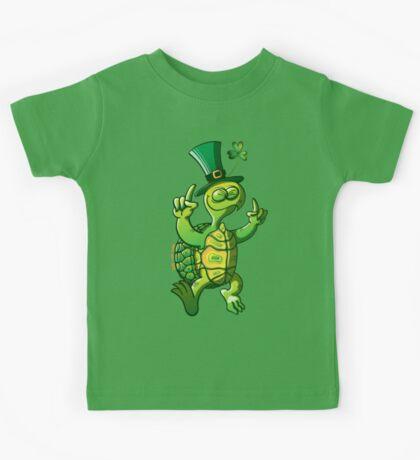 Saint Patrick's Day Turtle Kids Clothes