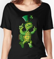 Saint Patrick's Day Turtle Women's Relaxed Fit T-Shirt