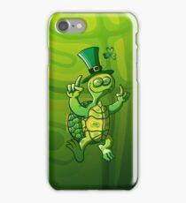 Saint Patrick's Day Turtle iPhone Case/Skin