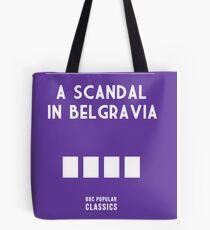 BBC Sherlock - A Scandal in Belgravia Minimalist Tote Bag