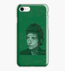 Typographic Icons - Bob Dylan iPhone Case/Skin