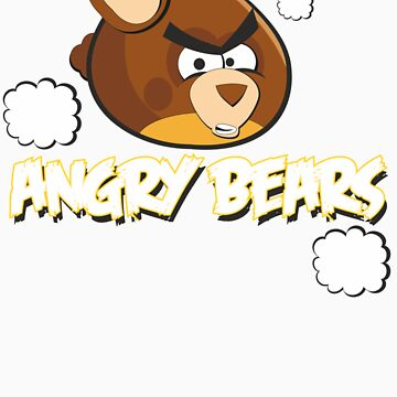 Angry Bears by mythsandmagic