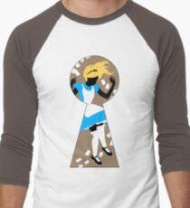 Alice In Wonderland Men's Baseball ¾ T-Shirt