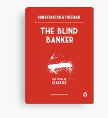BBC Sherlock - The Blind Banker Minimalist Canvas Print