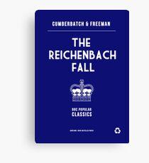 BBC Sherlock - The Reichenbach Fall Minimalist Canvas Print