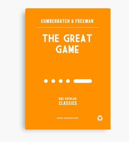 BBC Sherlock - The Great Game Minimalist Canvas Print