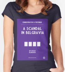 BBC Sherlock - A Scandal in Belgravia Minimalist Women's Fitted Scoop T-Shirt