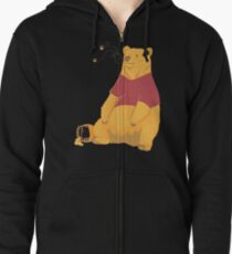 Pooh at the Zoo Zipped Hoodie