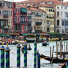 """Venice's Grand Canal by Christine """"Xine"""" Segalas"""