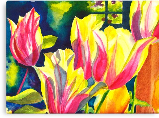 Tulip Parade by Sally Griffin