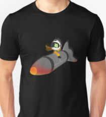 How I Learned to Stop Worrying and Love the Space Program. T-Shirt