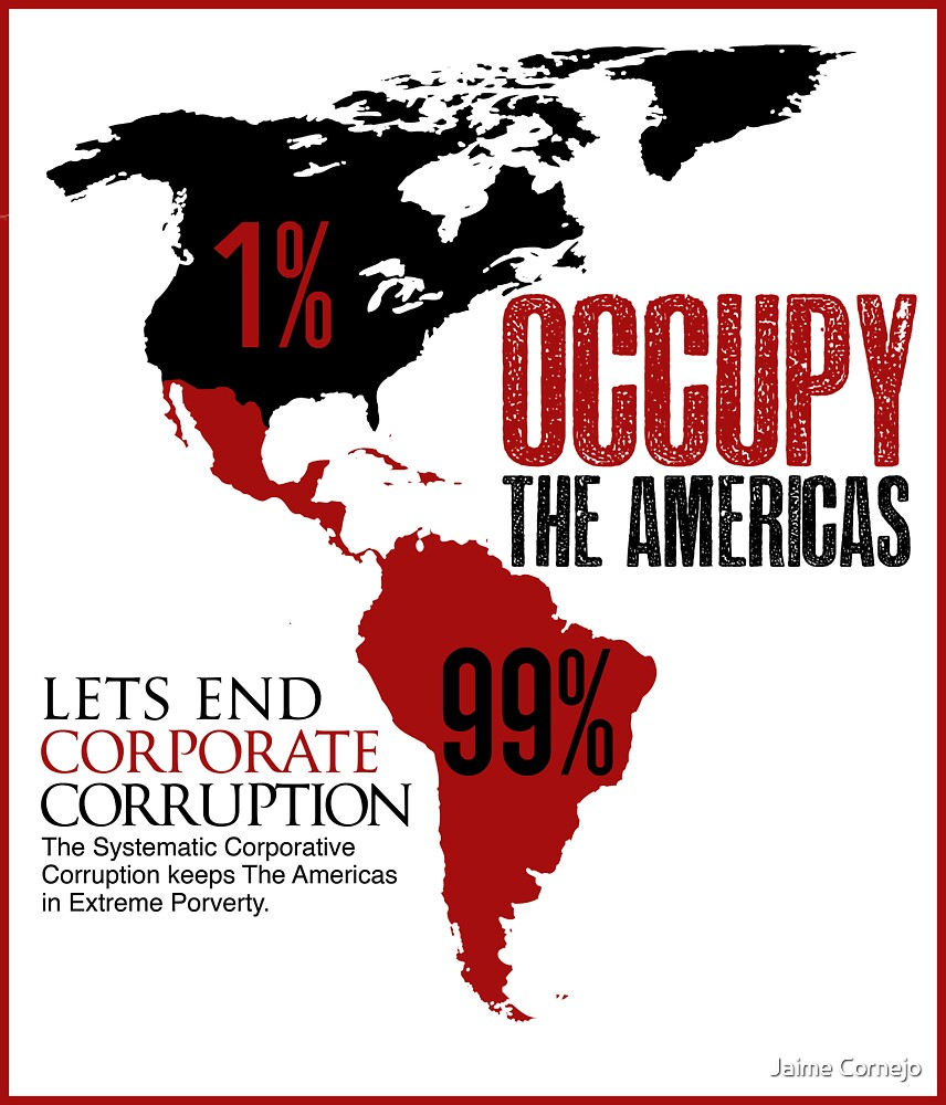 OCCUPY THE AMERICAS  by Jaime Cornejo