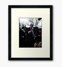It'sssssssssss Boris Framed Print
