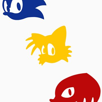 Sonic, Tails & Knuckles alternative by Photosmagoria