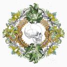 Skull in Beauty  by princessvenom