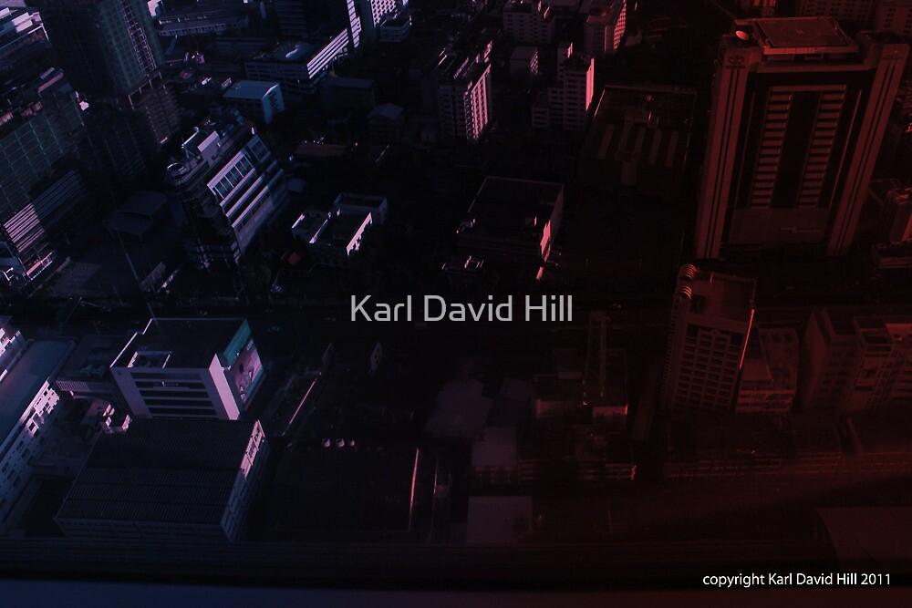 infinite metropolis 002 by Karl David Hill