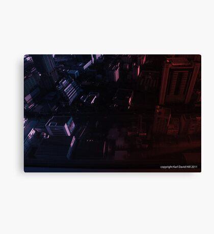 infinite metropolis 002 Canvas Print