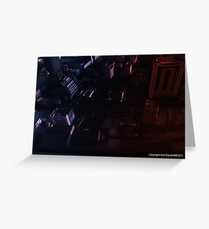 infinite metropolis 002 Greeting Card