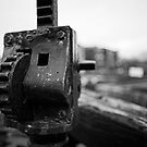 Lock Mechanism Closeup by kernuak