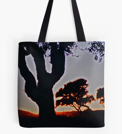 Olive tree sunset .Sardinia. Bella Italia. by Brown Sugar. Tote Bag