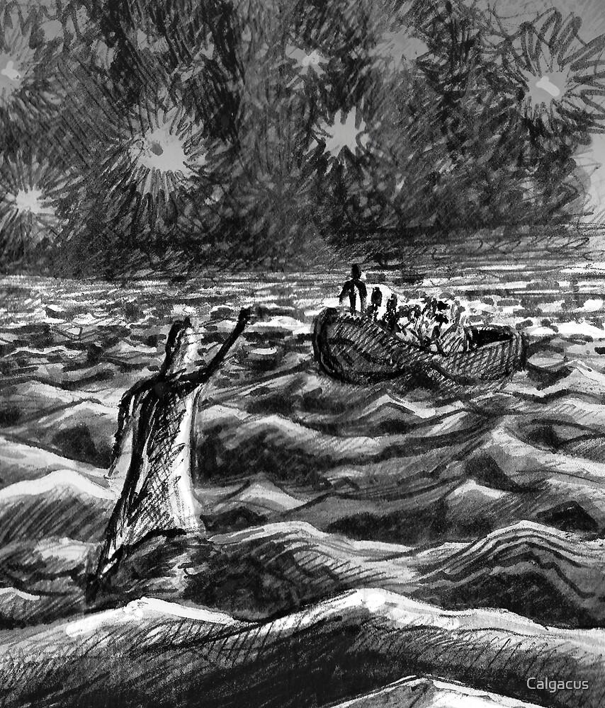 Walk On Water  by Calgacus