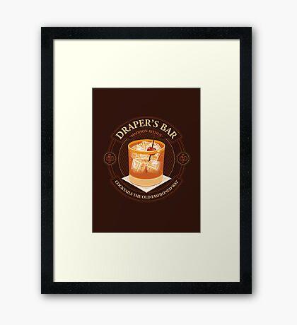 Draper's Bar Framed Print