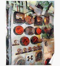 Steampunk Gauges - Engine Room Poster