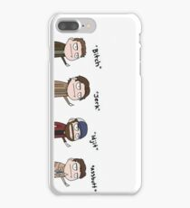 Supernatural - Cas, Dean, Bobby, Sam iPhone 7 Plus Case