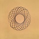 Spirograph on old paper by suranyami