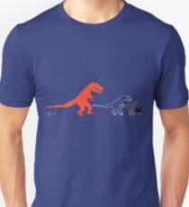 Descent of Chicken (Blue) T-Shirt