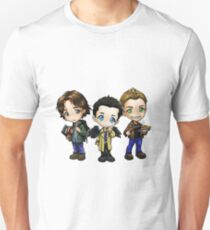 Supernatural - Dean, Sam and Castiel T-Shirt