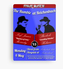 Rumble at Reichenbach (Poster) Metal Print