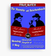Rumble at Reichenbach (Poster) Canvas Print