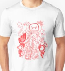 Doodle 66 Red T-Shirt