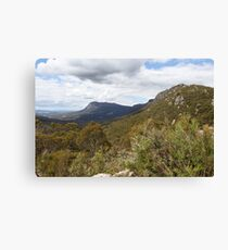 Afternoon Light on Mount Roland Canvas Print