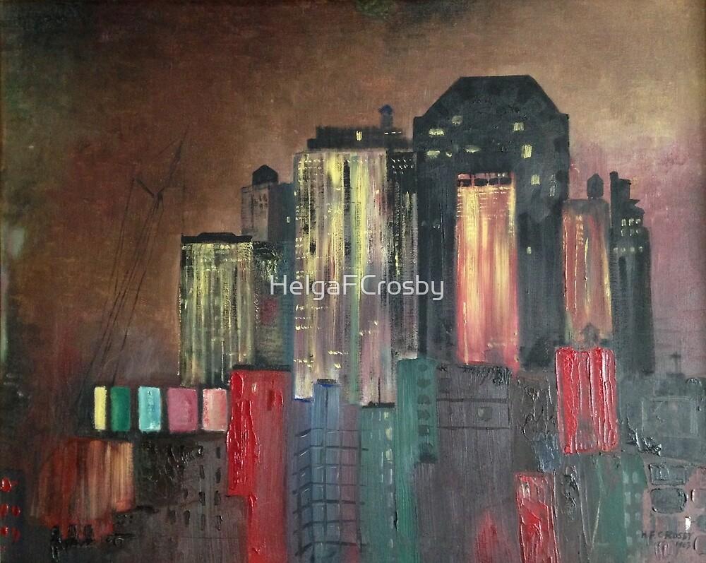 """NYC Skyline""© by HelgaFCrosby"