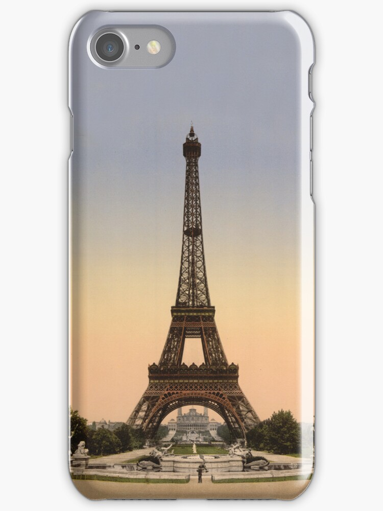 Eiffel Tower iPhone Case by Melanie  Dooley
