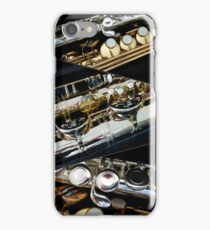 A Saxophonic Collage iPhone Case/Skin