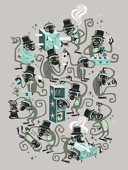 Monkey Magic  by spadaman