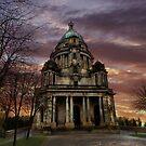 The Ashton Memorial at Sunset  by Irene  Burdell