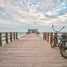 Pier at Anna Maria Island, Florida by ArtThatSmiles