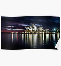 Reflections - Sydney Opera House Poster