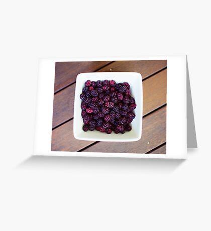 mulberries Greeting Card