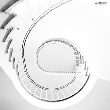 Hole in the stair by kraftseins