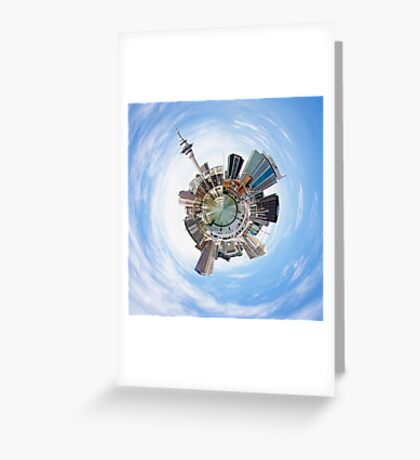 Auckland City Greeting Card