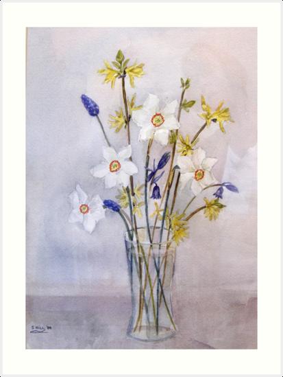 Little Spring Flowers by Shoshonan